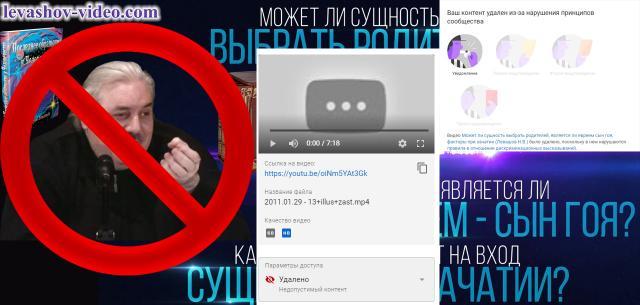 Удаление видео с нового канала на youtube